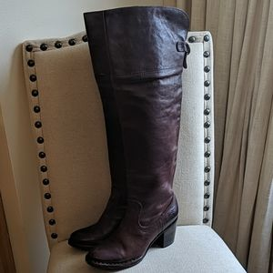 Frye Lucinda Slouch Over the Knee Boots